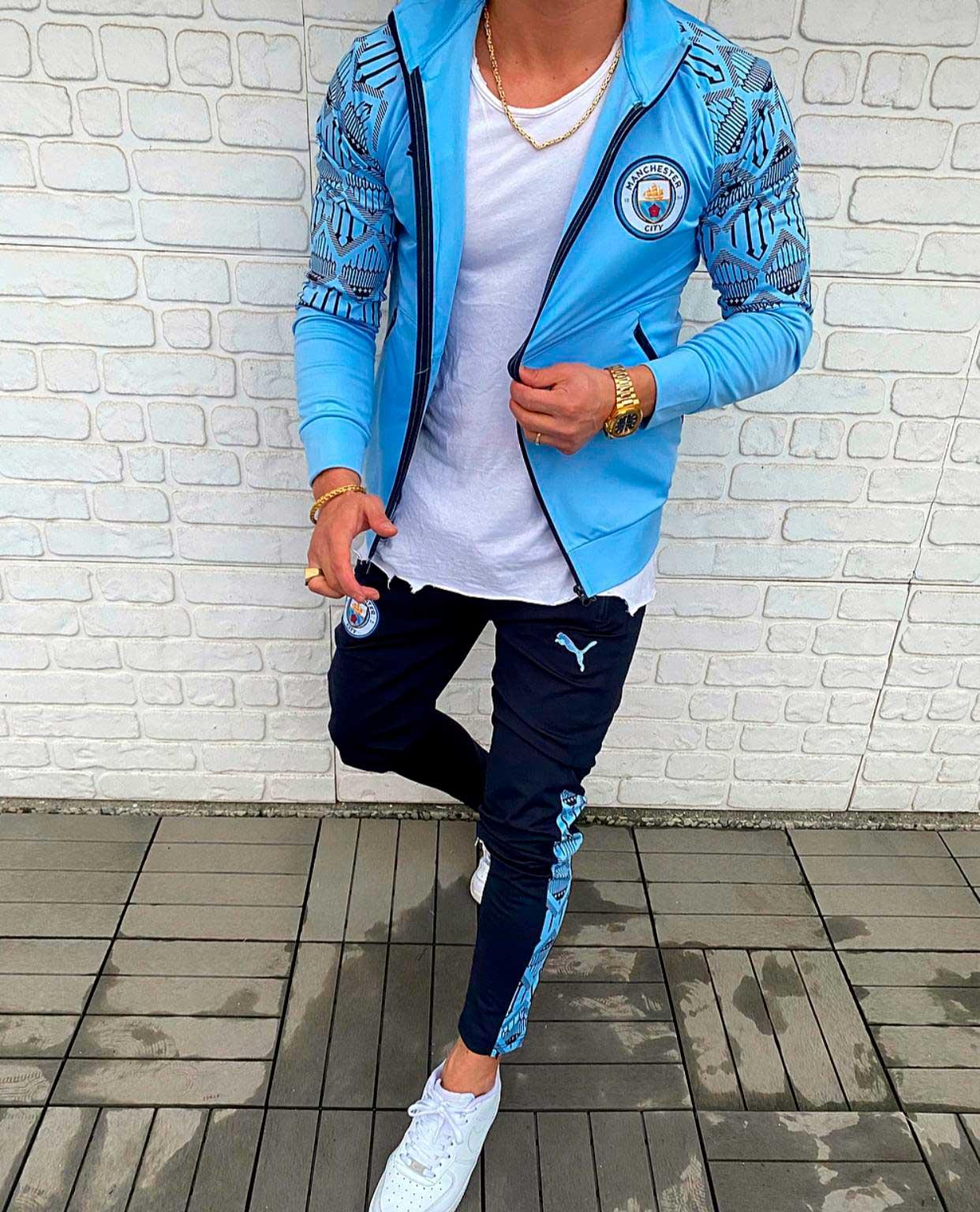 Мужской спортивный костюм Puma Manchester city 2021